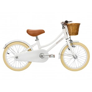 "Banwood Classic Pedal Bike 16"" - White"