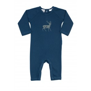 Boys Growsuit with Deer Print