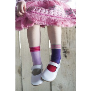Mismatched Socks in Strawberry