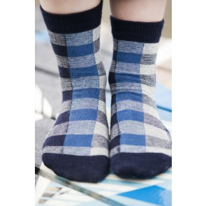 Heritage Socks in Navy