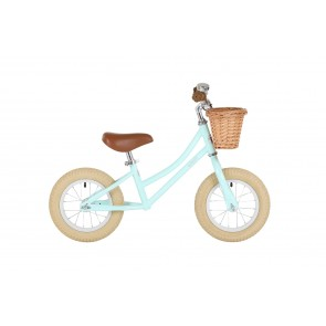 "Bobbin Gingersnap 12"" Balance Bike Mint Green"
