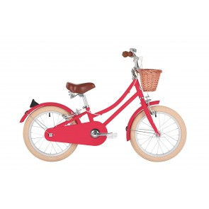 "Bobbin Gingersnap 16"" Pedal Bike Cerise (4-6 years)"