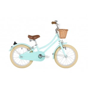 "Bobbin Gingersnap 16"" Pedal Bike Mint Green (4-6 years)"