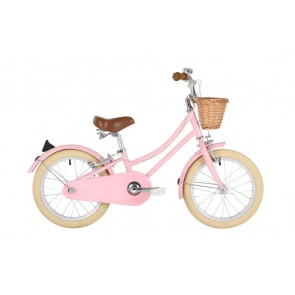 "Bobbin Gingersnap 16"" Pedal Bike Pastel Pink (4-6 years)"