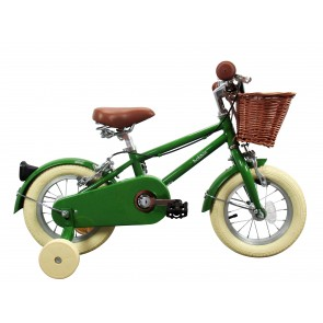 "Bobbin Moonbug 12"" Pedal Bike Pea (3-4 years)"