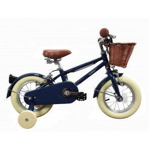 "Bobbin Moonbug 12"" Pedal Bike Blueberry (3-4 years)"
