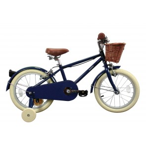 "Bobbin Moonbug 16"" Pedal Bike Blueberry (4-6 years)"