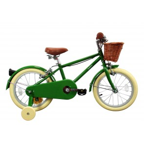 "Bobbin Moonbug 16"" Pedal Bike Pea (4-6 years)"