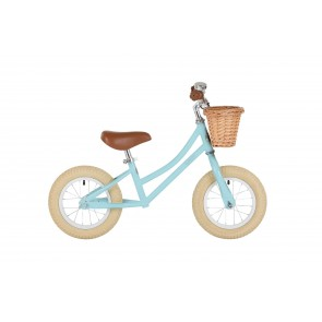 "Bobbin Gingersnap 12"" Balance Bike Duck Egg Blue"