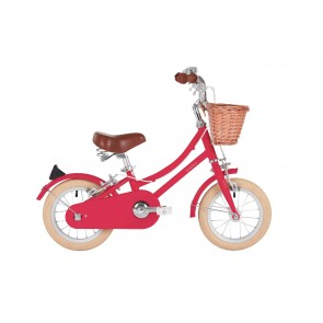 "Bobbin Gingersnap 12"" Pedal Bike Cerise (3-4 years)"