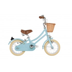 "Bobbin Gingersnap 12"" Pedal Bike Duck Egg Blue (3-4 years)"