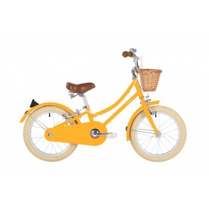"Bobbin Gingersnap 16"" Pedal Bike Yellow (4-6 years)"