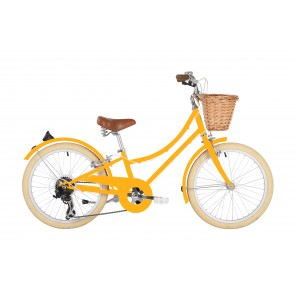 "Bobbin Gingersnap 20"" Pedal Bike Yellow (7-9 years)"