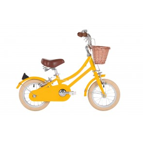 "Bobbin Gingersnap 12"" Pedal Bike Yellow (3-4 years)"