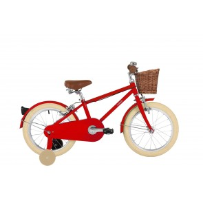 "Bobbin Moonbug 16"" Pedal Bike Red (4-6 years)"