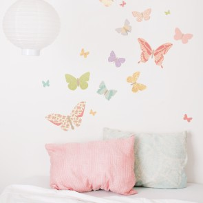 Girly Butterflies Wall Sticker
