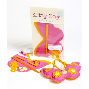 Make & Sew Felt Butterfly Kit