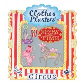 Circus Set of 5 Clothes Plasters