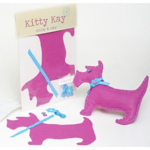 Make & Sew Felt Dog Kit