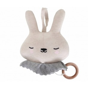 Music Box Circus Bunny in Beige
