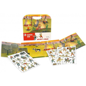 Magnetic Game Cowboys and Indians