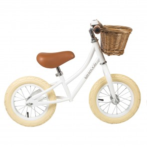 First Go! Balance Bike Banwood - White