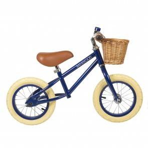 First Go! Balance Bike Banwood - Navy Blue