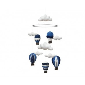 Airballoon Mobile in Blue