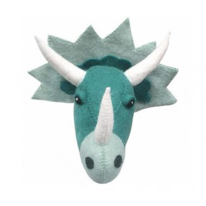 Green Dinosaur Head Wall Decoration