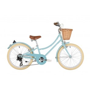 "Bobbin Gingersnap 20"" Pedal Bike Duck Egg Blue (7-9 years)"