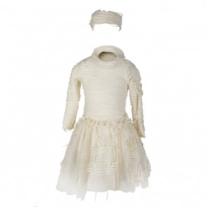 Mummy Costume with Tulle Skirt