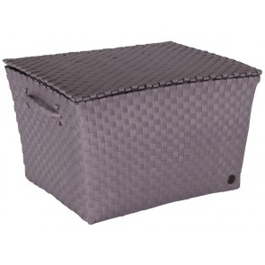 Super Big Ancona Basket in Mauve