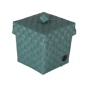 Small Ascoli Basket in Stone Green