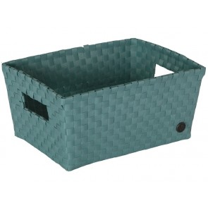 Bibbona Basket in Stone Green