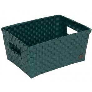 Bibbona Basket in Blue Green