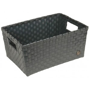 Bibbona Basket in Dark Grey