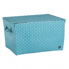 Super Big Ancona Basket in Stone Blue