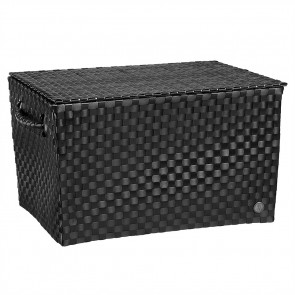 Super Big Ancona Basket in Black