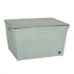 Super Big Ancona Basket in Greyish Green