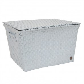 Super Big Ancona Basket in Powder Blue