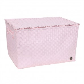 Super Big Ancona Basket in Powder Pink