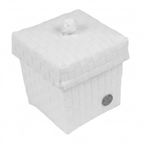 Small Ascoli Basket in White