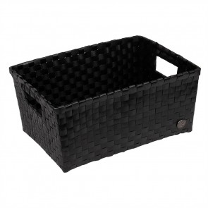 Bibbona Basket in Black