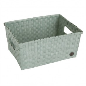 Bibbona Basket in Greyish Green