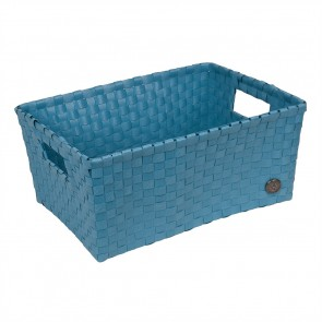 Bibbona Basket in Stone Blue