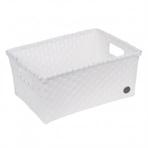 Bibbona Basket in White