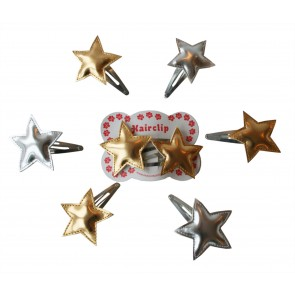 Hair Clips with Glamorous Stars