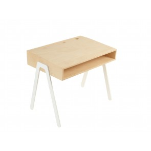 Kids Desk in White - Small (2-6 years)