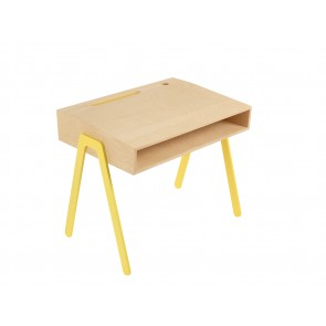 Kids Desk in Yellow - Small (2-6 years)