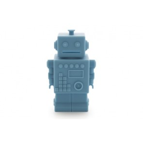 Robot Money Box in Blue
